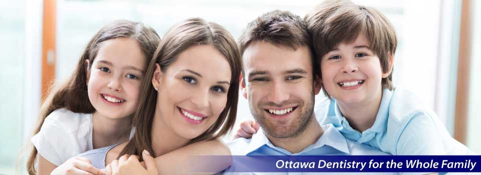 Ottawa Dentistry for the Whole Family | Smiling family