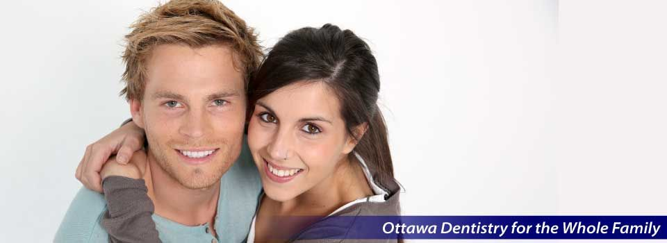 Ottawa Dentistry for the Whole Family | Smiling couple