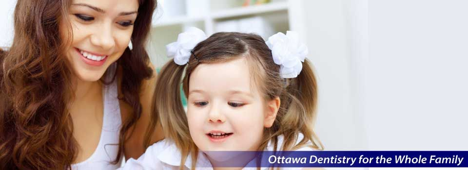 Ottawa Dentistry for the Whole Family | Young girl brushing teeth